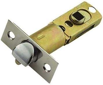 """2 3//4/"""") Ultraloq Smart Lock Replacement Round Corner Adjustable Deadlatch 2 3//8/"""""""