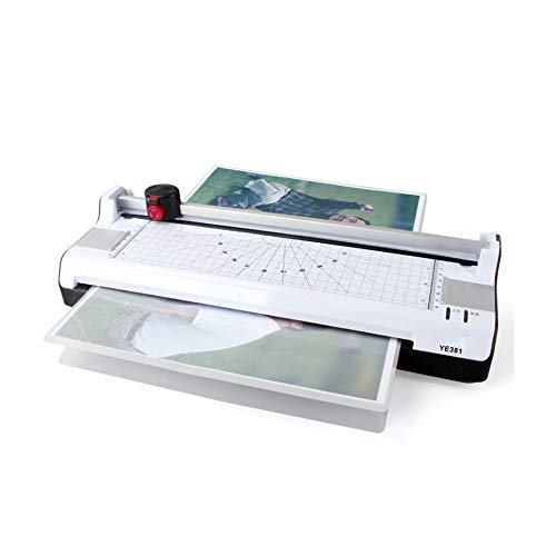 TAKOYI Home Fast Laminator Machine Hot and Cold,Office Laminating Machine for Home Use,Laminator Machine 2 Roller System with Rotary Trimmer, Corner Rounder, with laminator Pouches for A3/A4/A6