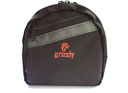 Grizzly's UTAH, Load Carrying, Super Padded Protective FISHING REEL GEAR BAG for Small to Medium Spinning Reel and/or Fly Fishing Reel. Holds Gear, Hooks, Flies, Weights, Line.