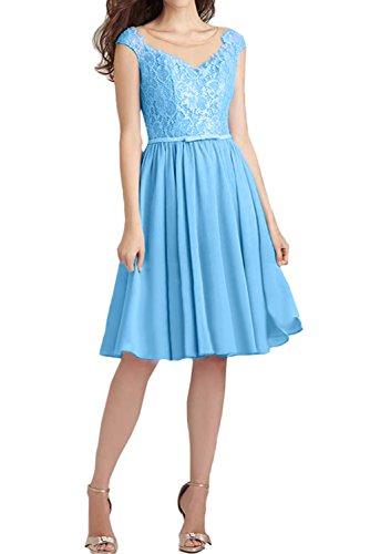 Ivydressing -  Vestito  - linea ad a - Donna Blau 40