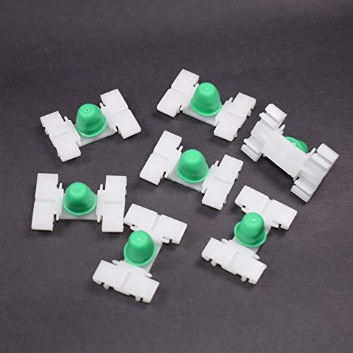 Accesorios de interior 30 piezas de pinzas de sujeción para puerta de coche para BMW Serie 3 E36 E46 318 323 320I 325I 328...