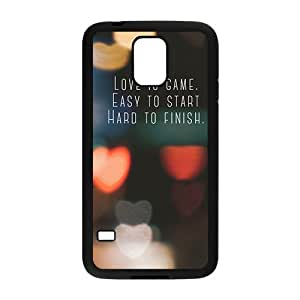 Creative phone case for Samsung Galaxy S5,love is game design