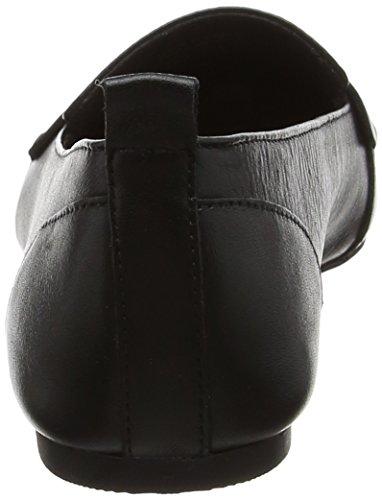 Donna Black Leather Nero Ballerine Aldo 97 CHERRYHILL56 wxREHE