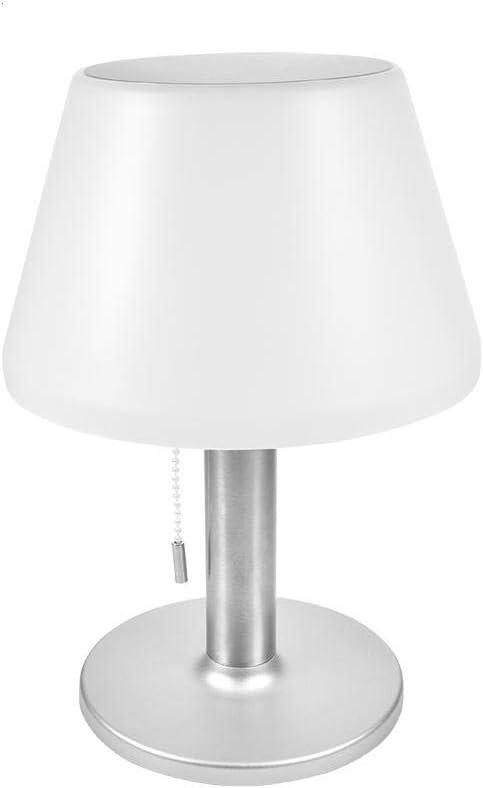 Dongbin Lámpara de Mesa Solar LED Resistente al Agua lámpara de ...