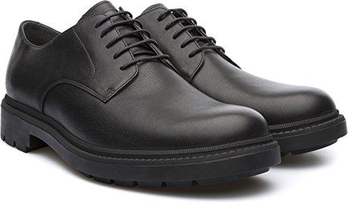 Camper Hardwood K100012 001 - Zapatos de cordones para hombre negro negro 42
