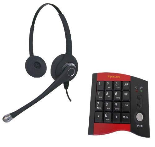 Ultra Binaural Headset with HP100 Dial pad