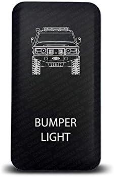 Blue Led Bumper Lights Symbol CH4x4 Push Switch for Toyota FJ Cruiser