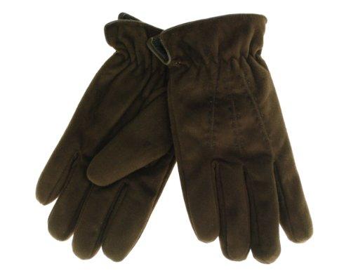 Isotoner ISO Gloves Brown Medium