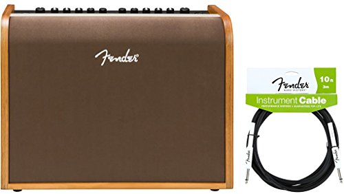 Fender Acoustic 100 Guitar Amp w/ Instrument Cable by FMIC