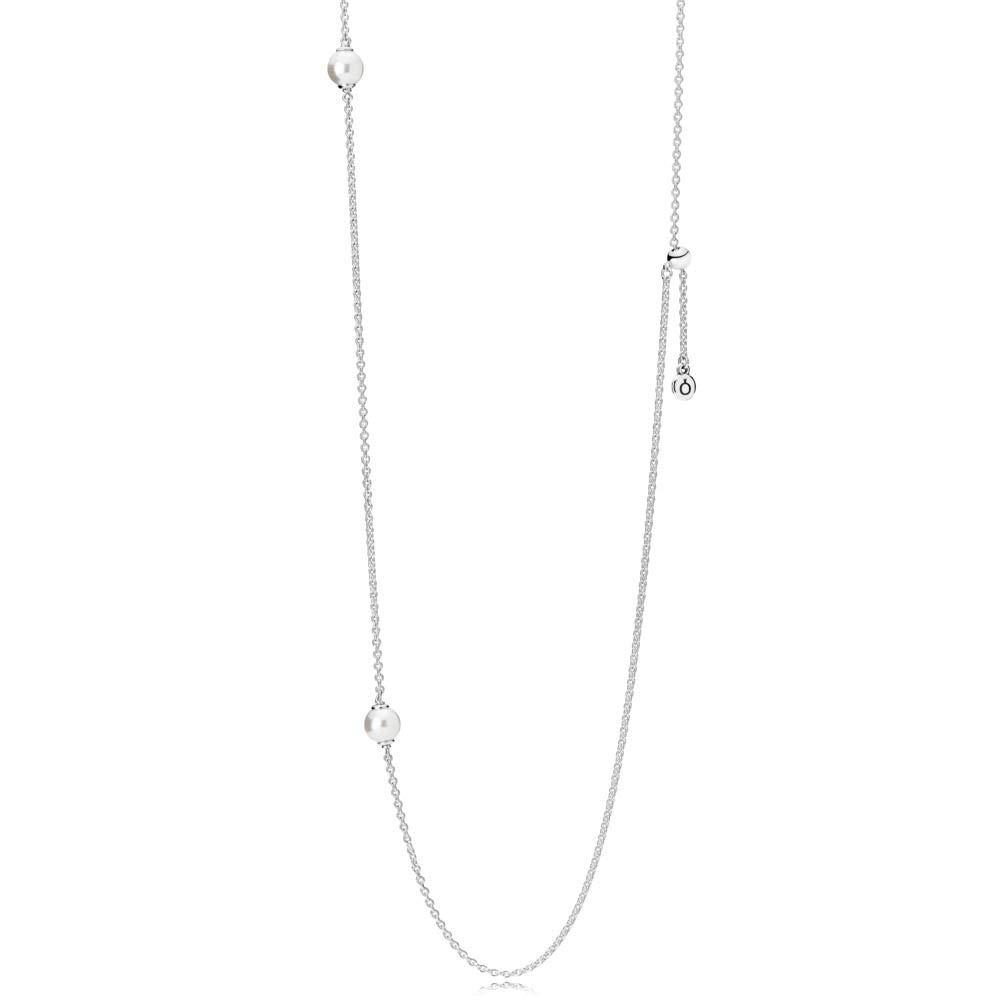 189503882 Amazon.com: PANDORA Luminous Dainty Droplets, White Crystal Pearl  590539WCP-80: Jewelry