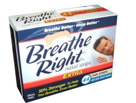 Breathe Right Extra Strong Strips product image