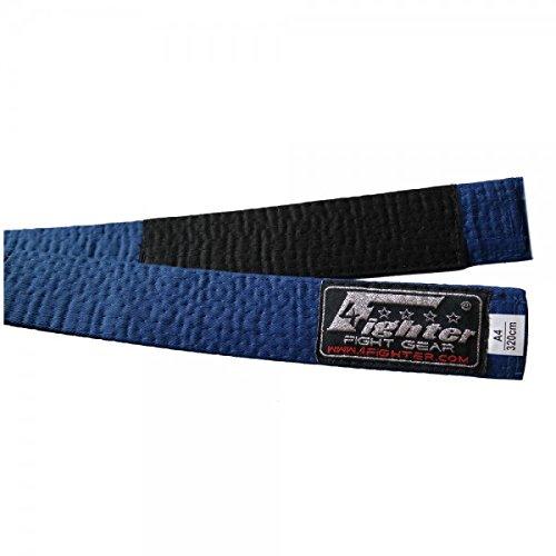 4Fighter BJJ Belt/BJJ Cinturón Azul en Varios tamanos A1 - A5