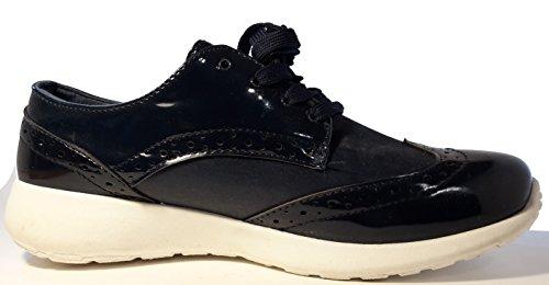 Material Zapatos 3 oscuro azul Sintético W de con Cordones Hohenlimburg Mujer BqUwqTO