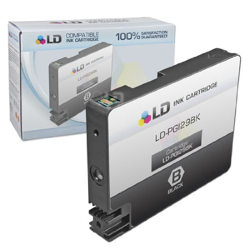 LD Compatible Ink Cartridge Replacement for Canon PGI-29PBK (Photo Black)
