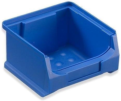 24 Caja visualizable para almacén 100x100x60 mm azul Caja Visualizable Almacén Cajas apilables Cajas Apilables Almacén Caja Almacén caja almacenar: Amazon.es: Bricolaje y herramientas
