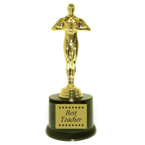 (Best Teacher with Stars - Hollywood Award with Gift)