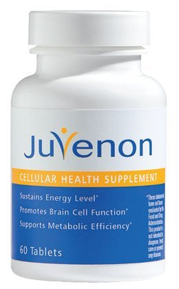- Juvenon Anti-Aging Tablets (60 Tablets) - Anti-Aging Pills for Energy, Focus and Brain Function that also help regulate Healthy Weight, Heart and Joints
