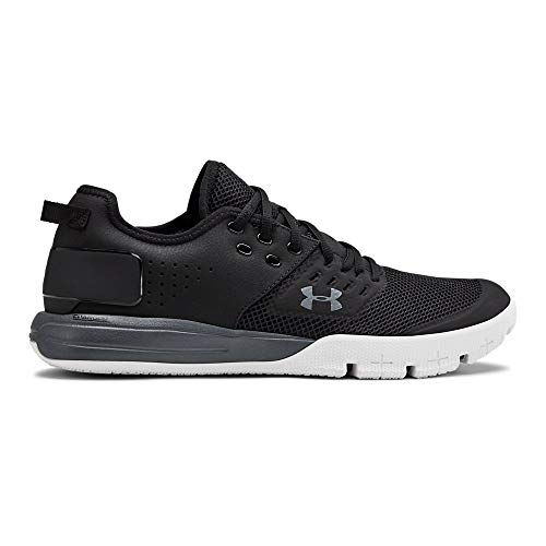 Under Armour Men's Charged Ultimate 3.0 Sneaker, Black (001)/Pitch Gray, 11 M US