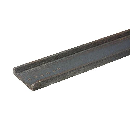 Everbilt 2 in. x 36 in. Plain Steel C-Channel Bar with 1/8 in. Thick -  801217