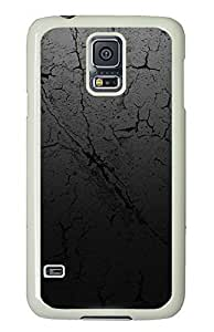 Samsung Galaxy S5 Cracked Earth Texture175 PC Custom Samsung Galaxy S5 Case Cover White
