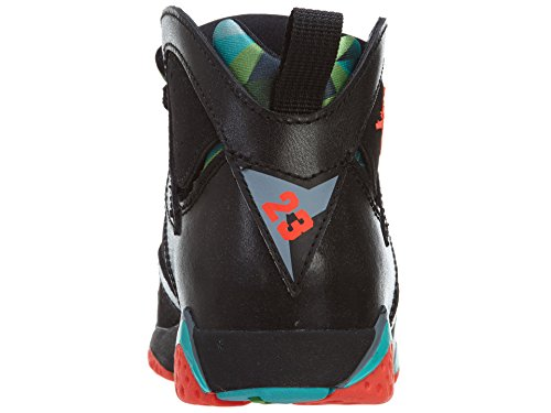 Nike Jordan 7 Retro Bp, Zapatillas de Deporte para Niños Negro / Rojo (Black / Infrared 23-Bl Grpht-Rtr)