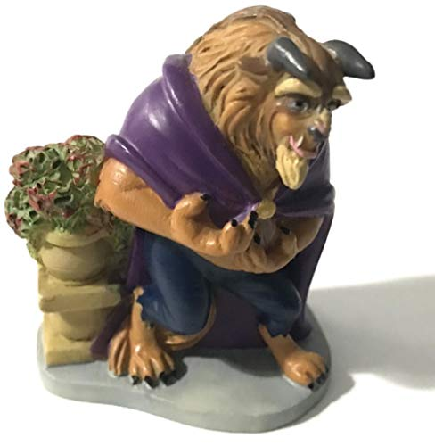Lenox Disney Magic Thimble Collection The Beast from The Beauty and The Beast Figurine - Lenox Walt Disney Showcase