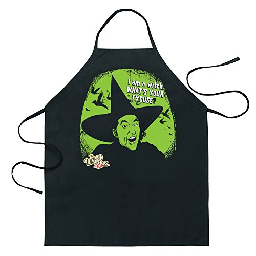 ICUP Wizard of Oz I Am a Witch Apron, Clear