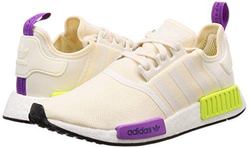 Adidas Semi Beige Blanc Rouge Pour Rojsol Baskets Rojsol solaire blanc Homme Craie Nmd Jaune r1 rojsol 6gq6r