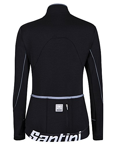 Santini - Mearsey Long Sleeves Woman Jersey, color negro, talla XXS