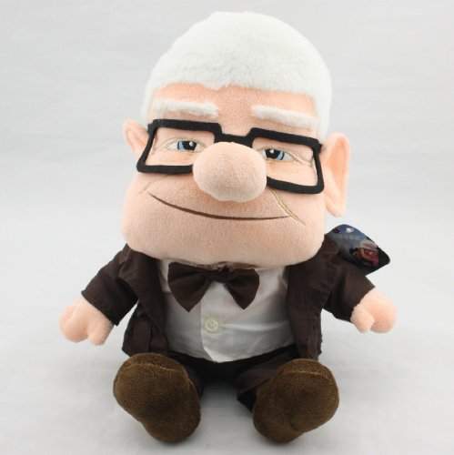 Carl Fredricksen Movie UP Plush Doll Figure Stuffed ToyRussell Friend Gift Hot (Christmas Ducktales Carol)