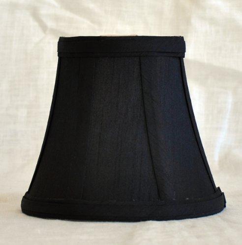 - Urbanest 1100462 Chandelier Mini Lamp Shade 5-inch, Bell, Clip On, Black