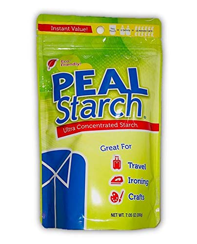1 (One) Pack Peal Starch 7.05oz