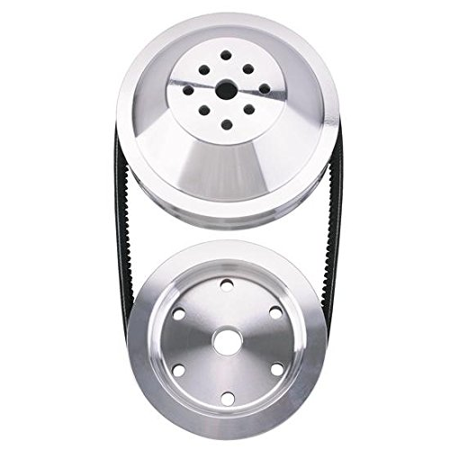 1:1 Pulley Combo for Small Block Chevy Long Water Pump