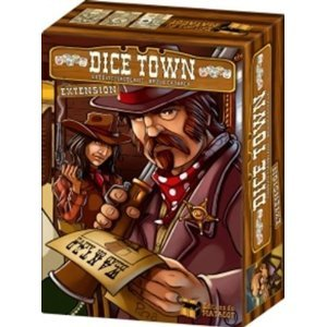 Asmodee Dice Town Expansion by Asmodee