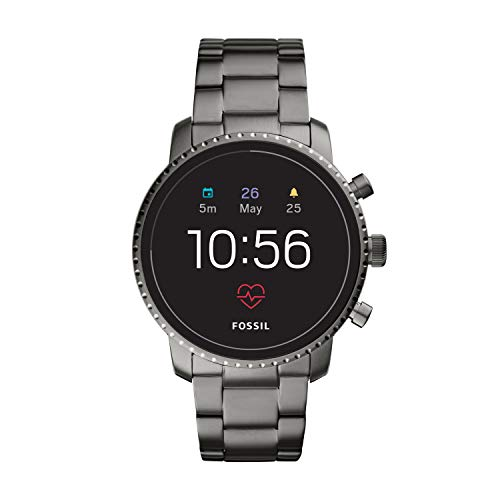 Fossil Men Gen 4 Explorist HR Stainless Steel Touchscreen Smartwatch