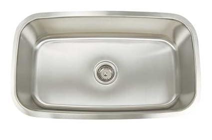 Merveilleux Artisan AR3118 D9 Premium Series Stainless Steel Undermount Single Bowl Sink