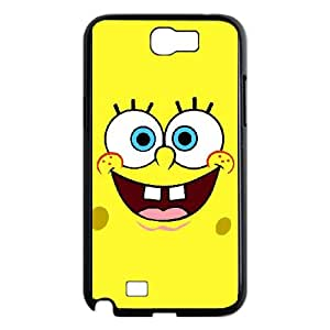 Sponge Bob Samsung Galaxy N2 700 Cell Phone Case Black JR5216146