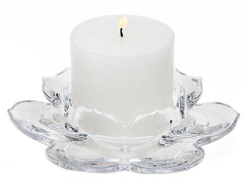Godinger LOTUS PILLARHOLDER - Pillar Holder Candle Lotus