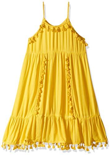 Billabong Girls' Sunny Gazer Dress Sunflower Medium ()