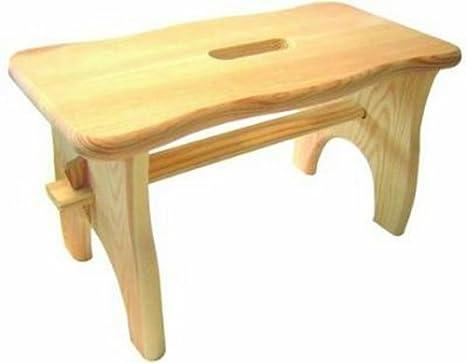 Sgabelli legno blinky mod. loto 40x20x22h: amazon.it: giardino e