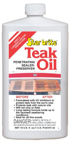 STAR BRITE Teak Oil - 16 oz (Staining Teak)