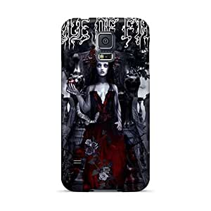 High Quality Mobile Cases For Samsung Galaxy S5 With Unique Design HD Bathory Band Skin EricHowe