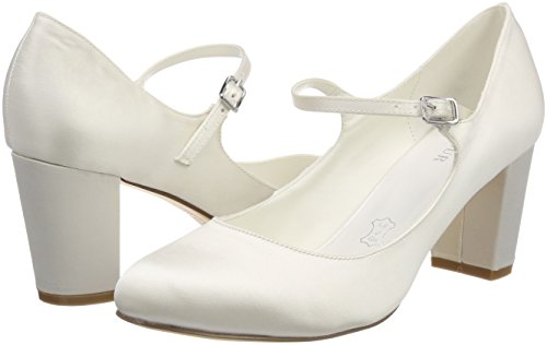 Para ivory Lorena Zapatos Mujer De Boda Wedding Menbur 04 Marfil Bw8nX