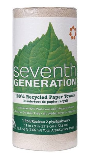 Seventh Generation Paper Towels, Natural, (30 Rolls) (Packaging may vary)