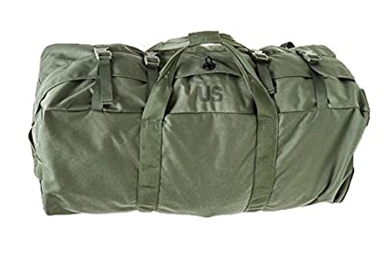 13027b74bec NEW US Army Military Camo Camouflage Tactical Foldable Deployment Luggage  DUFFLE FLIGHT SEA Cargo BAG Back