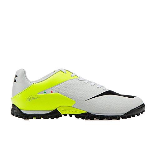 RB White Men's R MW Soccer Black Fluo Shoe Turf Yellow TF Tech Diadora ztHqq
