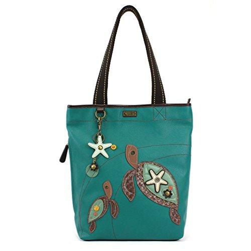 Bag Tote Turtle - Chala Handbag Everyday Tote (Turtle Turquoise)
