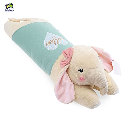 YOOYOO Metoo Stuffed Elephant Plush Doll Toy Cushion Pillow Christmas Gift (Light Green) (Girls Red Sequin Shoe Covers)