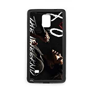 Special Design Cases Samsung Galaxy Note 4 N9108 Cell Phone Case Black Iyveh The Weeknd XO Durable Rubber Cover