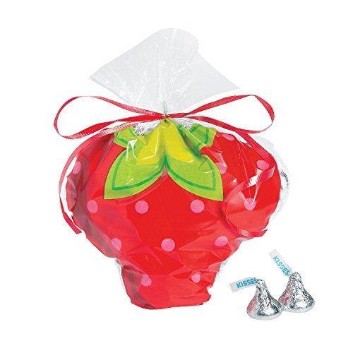 Fun Express Strawberry Cellophane Party